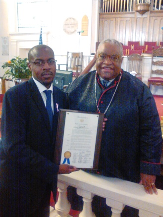 Proclamation Issued by the City Council for 11th Annual Children's Sabbath Observance, 2016
